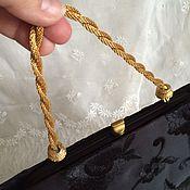 Винтаж ручной работы. Ярмарка Мастеров - ручная работа Винтажная вечерняя сумочка Cara Made in USA. Handmade.