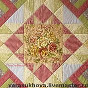 Для дома и интерьера handmade. Livemaster - original item Patchwork blanket Vanilla. Handmade.