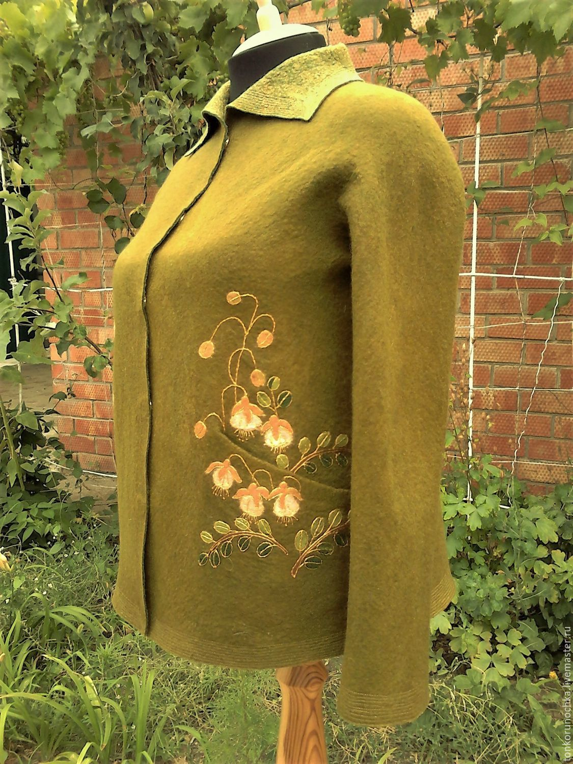 Felted jacket 'the Golden summer', Suit Jackets, Yeisk,  Фото №1