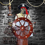 Для дома и интерьера ручной работы. Ярмарка Мастеров - ручная работа Механическая кукла в стиле Пираты карибского моря. Handmade.