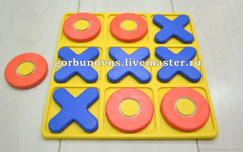 'TIC - TAC-TOE' Board Game, Puzzle, Simferopol,  Фото №1