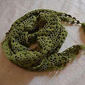 Аксессуары handmade. Livemaster - original item Pistachio scarf. Handmade.