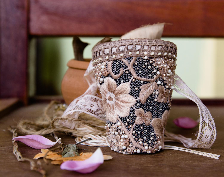 Браслет текстильный