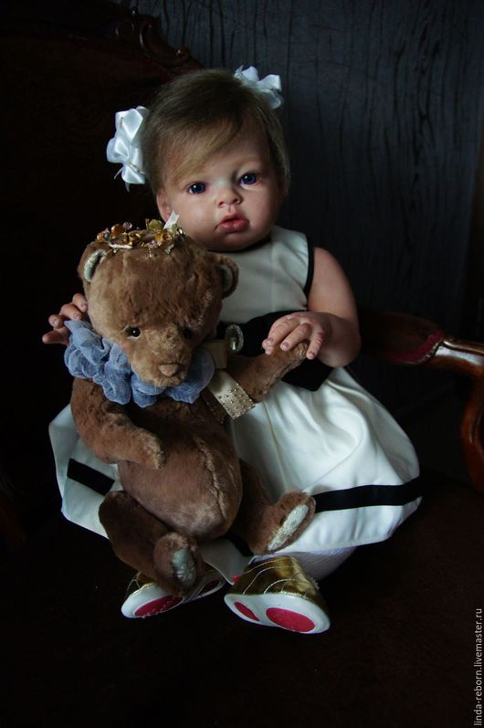 """Куклы-младенцы и reborn ручной работы. Ярмарка Мастеров - ручная работа. Купить 33000!!! до 15.12.16.!!! """"Ангелина"""" из молда Reva Schick. Handmade."""
