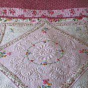 """Для дома и интерьера ручной работы. Ярмарка Мастеров - ручная работа покрывало на кровать """"Розовая мечта"""". Handmade."""