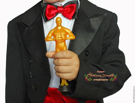 """Мыло ручной работы. Ярмарка Мастеров - ручная работа. Купить Мыло """"Оскар"""". Награда.. Handmade. Золотой, мыло сувенирное"""
