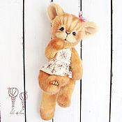 Куклы и игрушки ручной работы. Ярмарка Мастеров - ручная работа Хабира, абиссинская кошечка. Handmade.