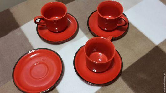 Винтажная посуда. Ярмарка Мастеров - ручная работа. Купить Винтажна кофейная пара KIL (Югославия 80-х годов). Handmade.