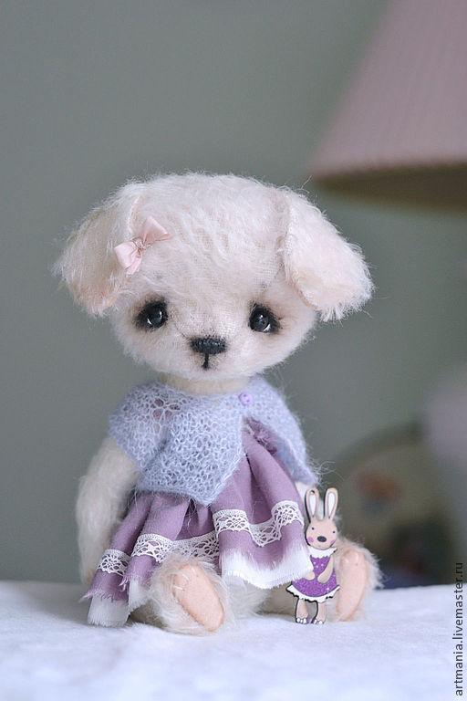 Мишки Тедди ручной работы. Ярмарка Мастеров - ручная работа. Купить Бася)). Handmade. Белый, подарок на любой случай, хлопок