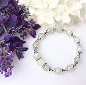 Украшения handmade. Livemaster - original item Bracelet genuine moonstone. Handmade.