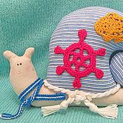 """Куклы и игрушки ручной работы. Ярмарка Мастеров - ручная работа Улитка тильда """"Костя морячок"""". Handmade."""