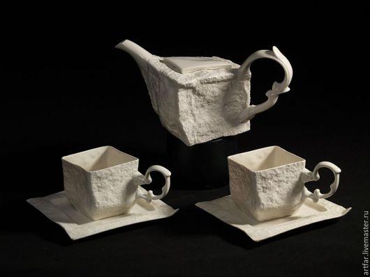 """Сервизы, чайные пары ручной работы. Ярмарка Мастеров - ручная работа. Купить Сервиз """"В Стокгольме шесть часов"""". Handmade."""