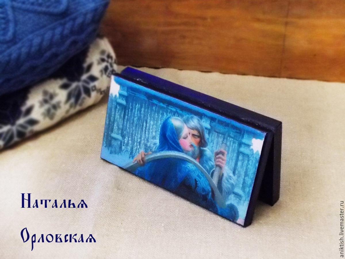 """Купюрница """"Случайная встреча"""", Шкатулки, Краснознаменск, Фото №1"""