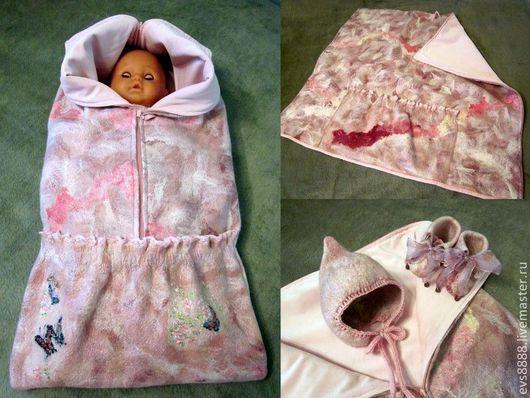 Для новорожденных, ручной работы. Ярмарка Мастеров - ручная работа. Купить Одеяло-трансформер для новорожденного. Handmade. Новорожденным, конверт для малыша