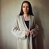 """Одежда ручной работы. Ярмарка Мастеров - ручная работа Кардиган вязаный  """"Jenn"""" 100% меринос , вязаный кардиган купить. Handmade."""