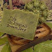 """Косметика ручной работы. Ярмарка Мастеров - ручная работа Шампунь """"Лавр-волшебник """", натуральный, с нуля,твердый. Handmade."""