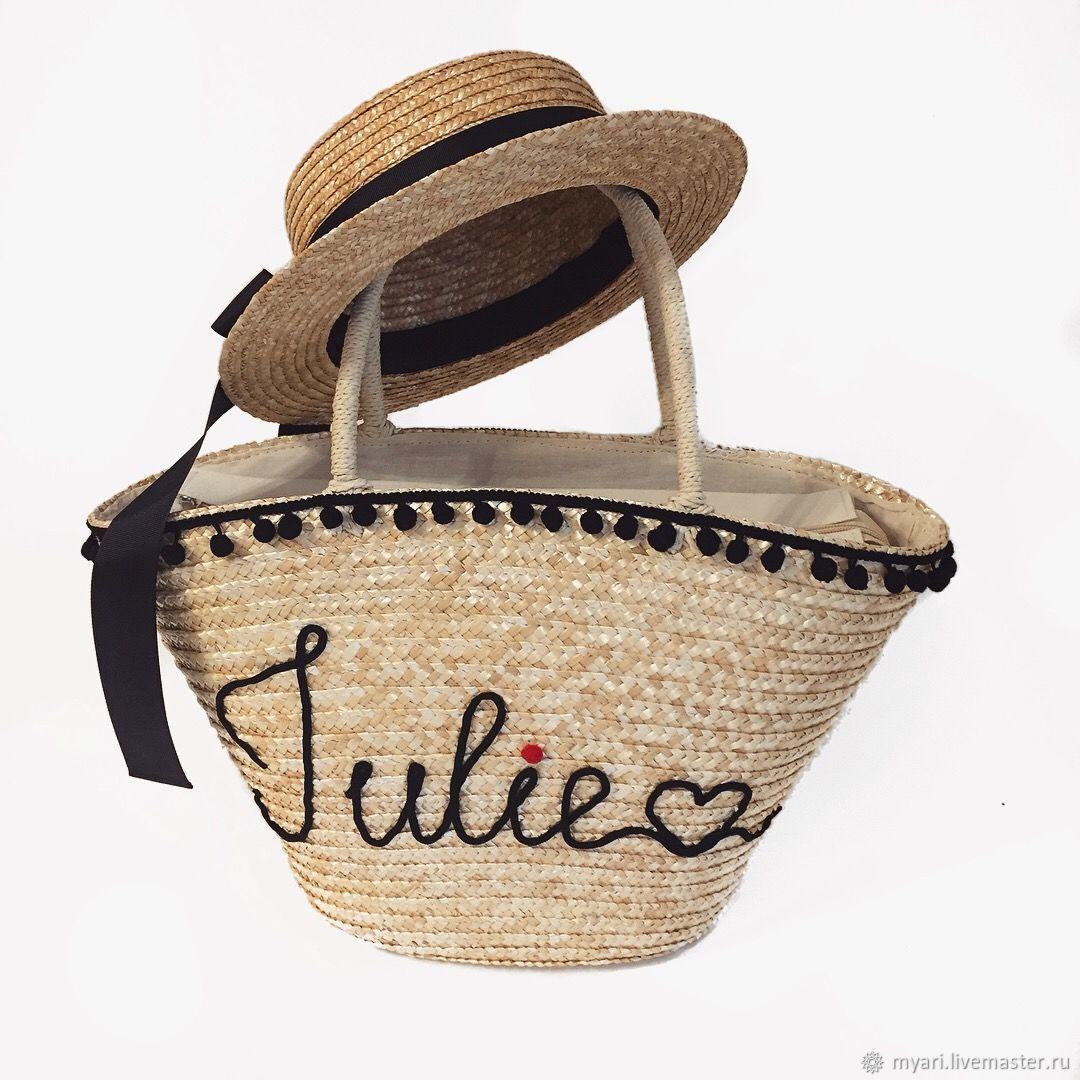 Купить Соломенная сумка