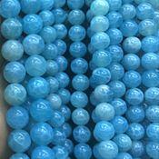 Материалы для творчества ручной работы. Ярмарка Мастеров - ручная работа Халцедон  голубой кракле. Handmade.