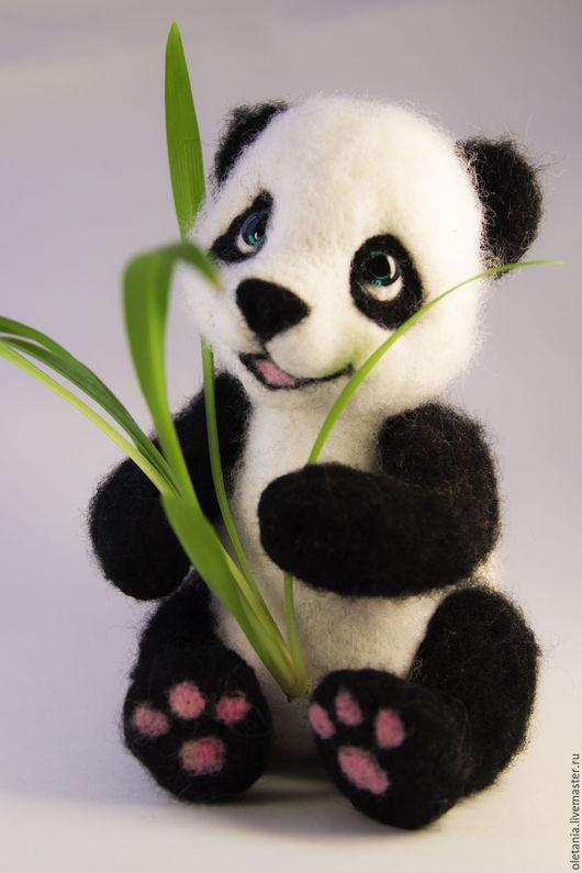 Игрушки животные, ручной работы. Ярмарка Мастеров - ручная работа. Купить Медвежонок Панда. Handmade. Чёрно-белый, панда игрушка