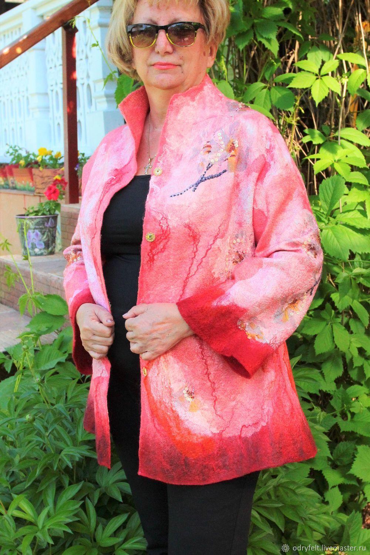 Жакет Орхидея, Жакеты, Москва, Фото №1
