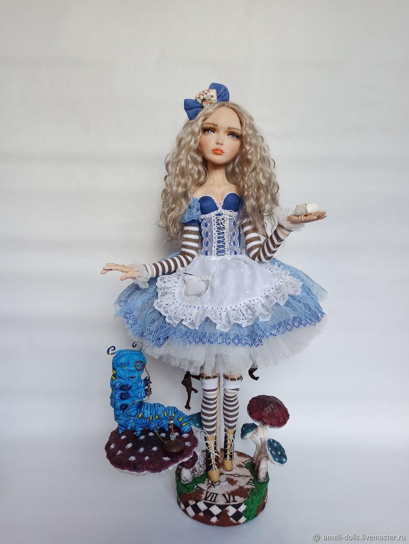 Алиса в стране чудес, Будуарная кукла, Томск,  Фото №1