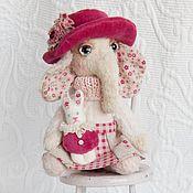 """Куклы и игрушки ручной работы. Ярмарка Мастеров - ручная работа Слоник """"Марта"""". Handmade."""