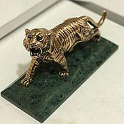 Статуэтки ручной работы. Ярмарка Мастеров - ручная работа Тигр. Handmade.