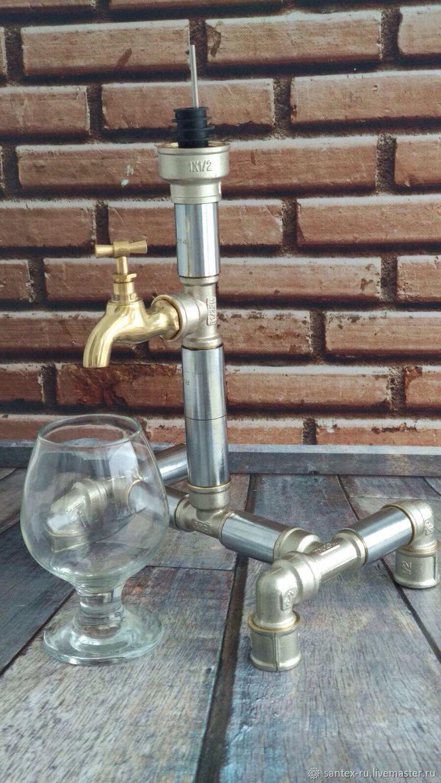 Gift man Dispenser for spirits , Beverage dispenser, Chelyabinsk,  Фото №1