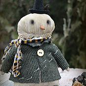 Куклы и игрушки handmade. Livemaster - original item Snowman. Handmade.