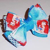 Резинка для волос ручной работы. Ярмарка Мастеров - ручная работа Резинка для волос: Мультяшные бантики. Handmade.