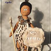 Куклы и игрушки ручной работы. Ярмарка Мастеров - ручная работа Пещерный человек. Handmade.
