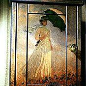 """Для дома и интерьера ручной работы. Ярмарка Мастеров - ручная работа Ключница """"Летний ветер"""". Handmade."""