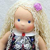 Куклы и игрушки ручной работы. Ярмарка Мастеров - ручная работа Настенька, вальдорфская кукла. Handmade.