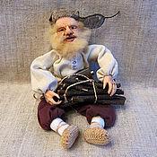 """Куклы и игрушки ручной работы. Ярмарка Мастеров - ручная работа Кукла """"Дед Никодим"""". Handmade."""