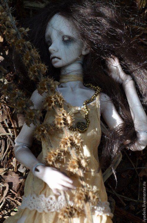 Шарнирная кукла Зомбочка, автор Ия Дейс