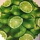 Лайм зеленый - салфетка для декупажа Декупажная радость