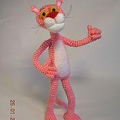 Куклы и игрушки ручной работы. Ярмарка Мастеров - ручная работа Розовая пантера. Handmade.