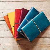 handmade. Livemaster - original item Midori notebook