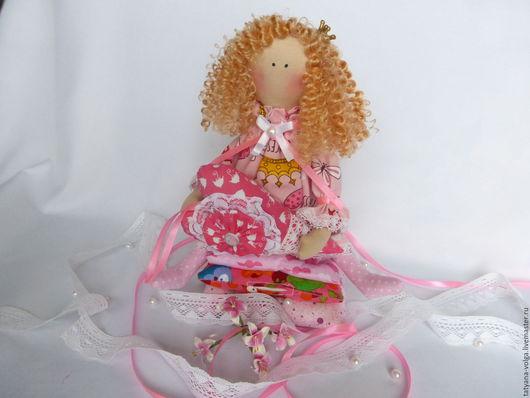 Куклы Тильды ручной работы. Ярмарка Мастеров - ручная работа. Купить Принцесса на горошине. Handmade. Розовый, кукла интерьерная, тильда