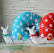 Куклы и игрушки ручной работы. Ярмарка Мастеров - ручная работа Улитка тильда Раз - горох, два - горох. Handmade.