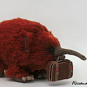 Куклы и игрушки ручной работы. Ярмарка Мастеров - ручная работа Игрушка вязаная Ехидна / проехидна. Handmade.