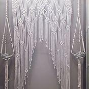Оформление зала ручной работы. Ярмарка Мастеров - ручная работа Свадебная арка макраме. Handmade.