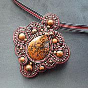 Украшения handmade. Livemaster - original item Flower from Mars (necklace). Handmade.