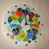 """Для дома и интерьера ручной работы. Ярмарка Мастеров - ручная работа Часы """" Весна идет, весне дорогу"""". Handmade."""