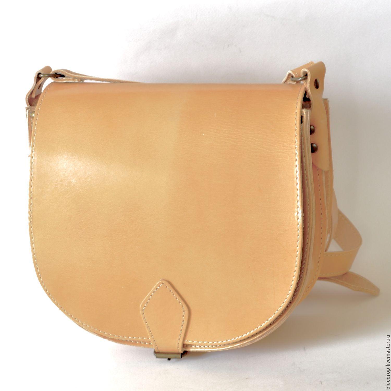 Женская сумка из кожи через плечо своими руками