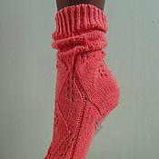 Аксессуары ручной работы. Ярмарка Мастеров - ручная работа Носочки ...фламинго.... Handmade.
