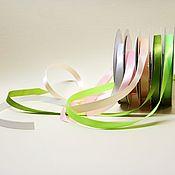 Ленты ручной работы. Ярмарка Мастеров - ручная работа Лента атласная 9 мм. Handmade.