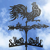 Дача и сад handmade. Livemaster - original item A weathervane on the roof