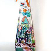 """Для дома и интерьера ручной работы. Ярмарка Мастеров - ручная работа Бутылка """"Сказка"""". Handmade."""