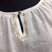 Одежда ручной работы. Ярмарка Мастеров - ручная работа Крестьянка льняная. Handmade.